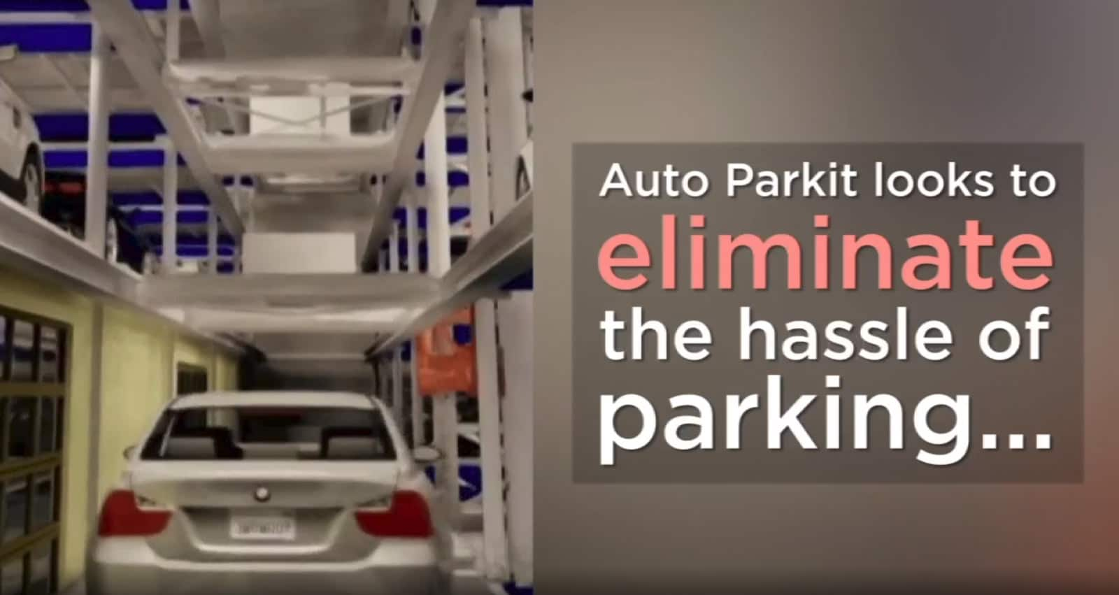 ABC7 – Automated garage company aims to eliminate parking hassles