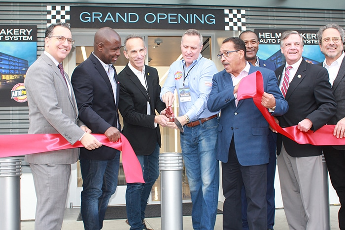 Helms complex opens new parking structure