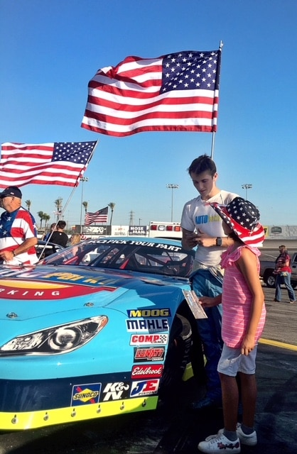 Independence Day Autograph Session at Irwindale Speedway