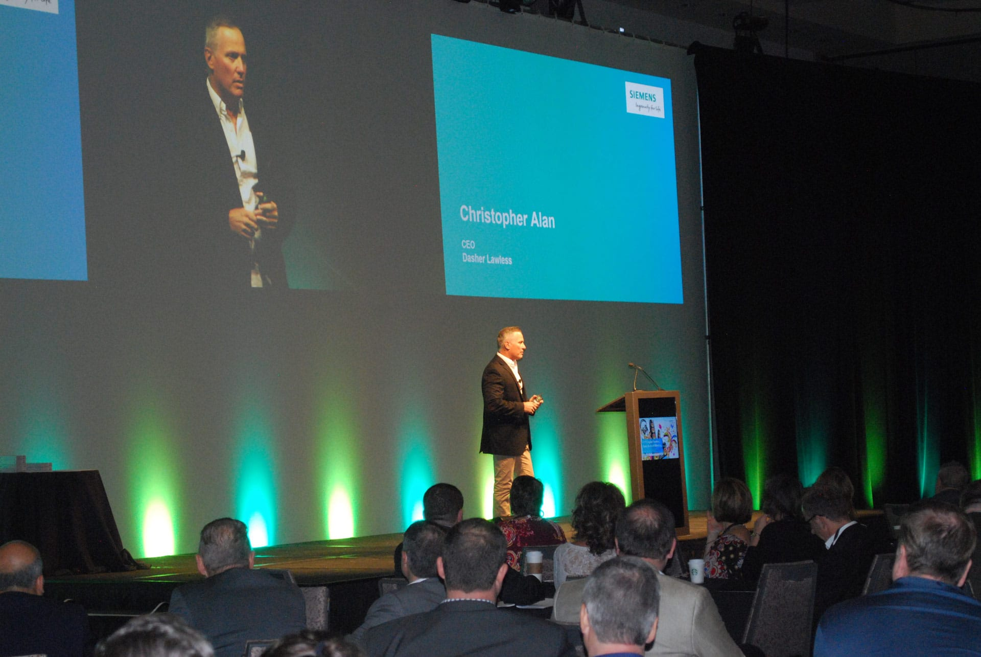 AUTOParkit's Christopher Alan Guest Speaker at Siemens NA Sales Conference